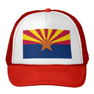 Hat with Flag of  Arizona State - USA