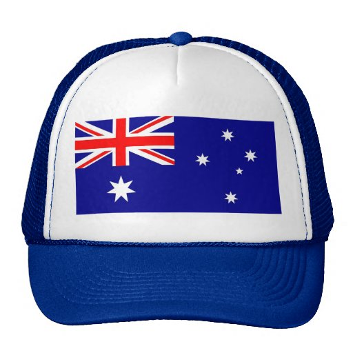 Hat with Flag of Australia
