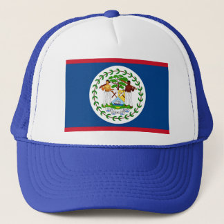 Hat with Flag of Belize