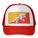Hat with Flag of Bhutan