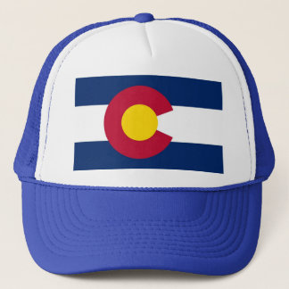 Hat with Flag of  Colorado State - USA