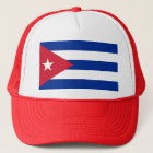 Hat with Flag of Cuba