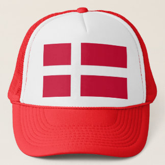 Hat with Flag of Denmark