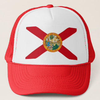 Hat with Flag of  Florida State - USA