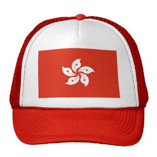 Hat with Flag of Hong Kong, China