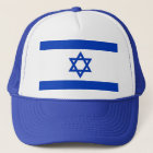 Hat with Flag of Israel