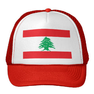 Hat with Flag of Lebanon