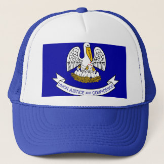 Hat with Flag of Louisiana State - USA