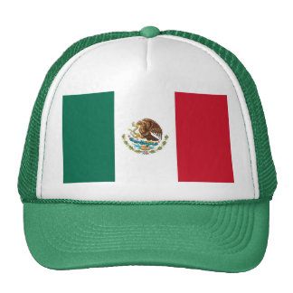 Hat with Flag of Mexico