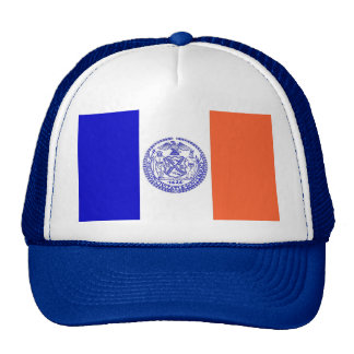 Hat with Flag of New York City - USA