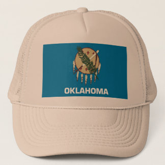 Hat with Flag of Oklahoma State - USA