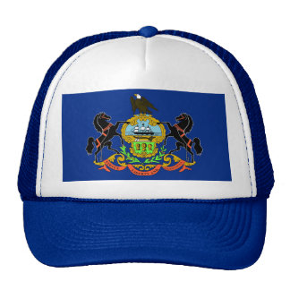 Hat with Flag of Pennsylvania State - USA