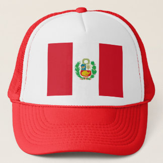 Hat with Flag of Peru