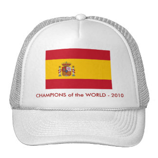 Hat with Flag of Spain
