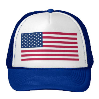 Hat with Flag of the USA