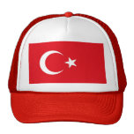 Hat with Flag of Turkey