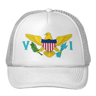 Hat with Flag of Virgin Islands - USA