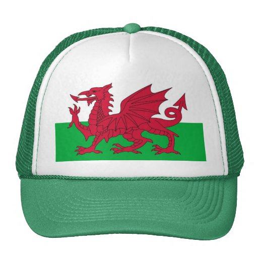 Hat with Flag of Wales