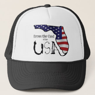 Hat with From the End of the USA logo.