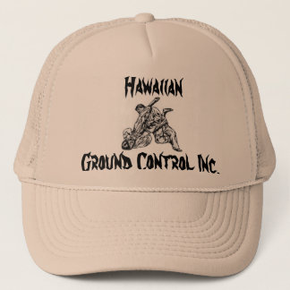 Hat with Hawaiian Ground Control Inc. logo