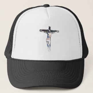 Hat With Jesus On The Cross