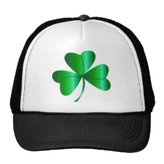 Hat with Shamrock
