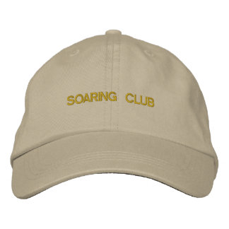 Hat With SOARING CLUB Design