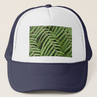 Hat with Tree Fern Motif