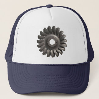 Hat with Water Turbine