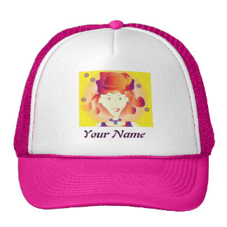 """hat  woman """"your name"""""""