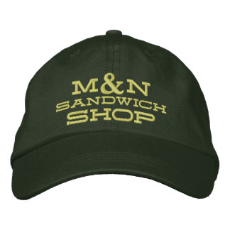 Hat - (Yellow Letters) M&N Knit Design 1