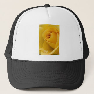 Hat - Yellow Rose with Raindrop