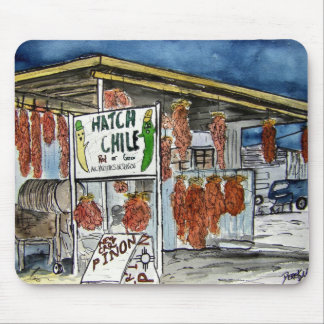 hatch chili New Mexico mouse pad