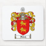 HATCH FAMILY CREST -  HATCH COAT OF ARMS MOUSE PAD