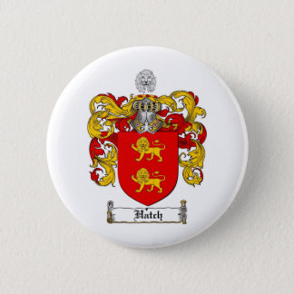 HATCH FAMILY CREST -  HATCH COAT OF ARMS PINBACK BUTTON