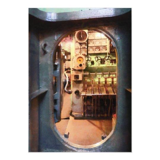 Hatch in Submarine Card