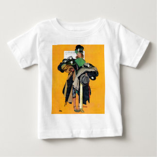 Hatcheck Girl Baby T-Shirt