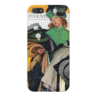 Hatcheck Girl iPhone 5 Case