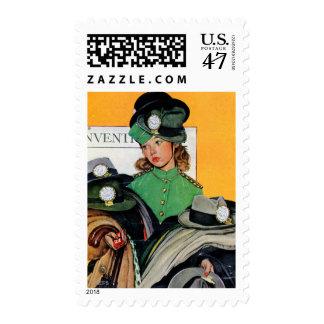 Hatcheck Girl Postage
