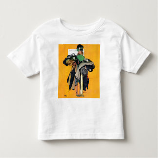 Hatcheck Girl Toddler T-shirt