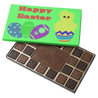 Hatched Baby Chick Eggs 45 Piece Box Of Chocolates