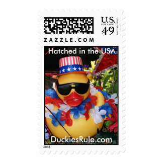 Hatched in the USA (Medium Vertical) Stamps