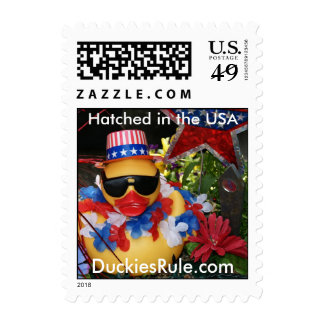 Hatched in the USA (Small Vertical) Stamps
