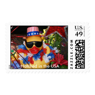 Hatched in the USA  Stamp (Medium Horizontal)