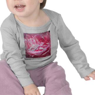 Hatched Pink Peony Tees