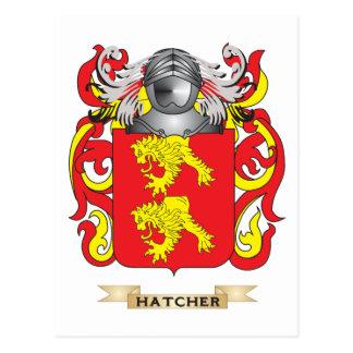 Hatcher Coat Of Arms Postcards & Postcard Template Designs ...