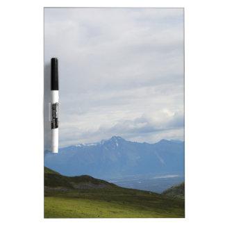 Hatchers Pass Mountain View Alaska Dry-Erase Board