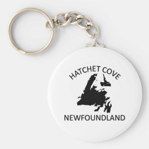 Hatchet Cove Basic Round Button Keychain