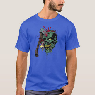 hatchet skull T-Shirt