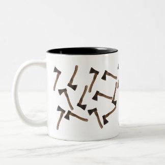 Hatchets Two-Tone Coffee Mug